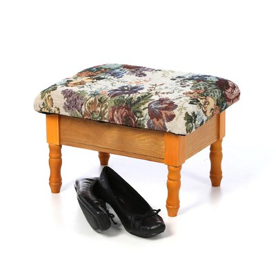 ORE Furniture Foot Stool with Storage