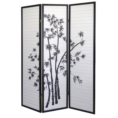 "ORE Furniture 70"" x 50"" Bamboo 3 Panel Room Divider"