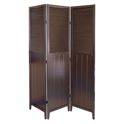 "ORE Furniture 70"" x 50"" 3 Panel Room Divider"