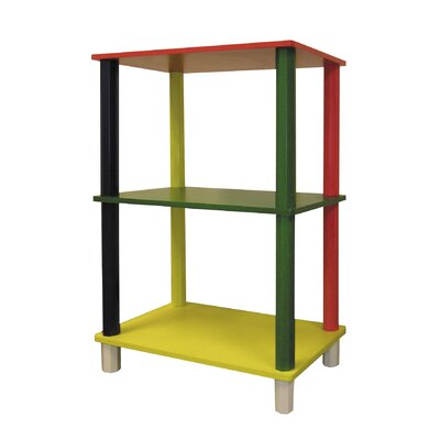 ORE Furniture Kid's 3 Tier Rectangle Shelves
