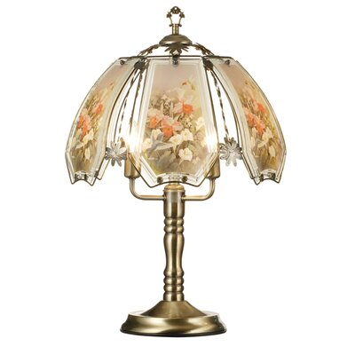 ORE Furniture Humming Bird Scene Touch Table Lamp