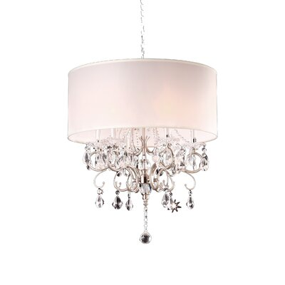 Crystal 6 Light Chandelier