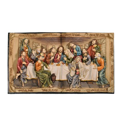 "ORE Furniture ""The Last Supper"" 3-D Plaque"