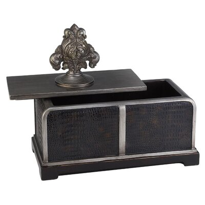 "ORE Furniture 11"" Sobek Decorative Box"