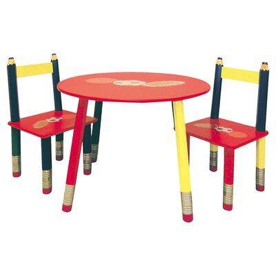 <strong>ORE Furniture</strong> Kids 3 Piece Table and Chair Set