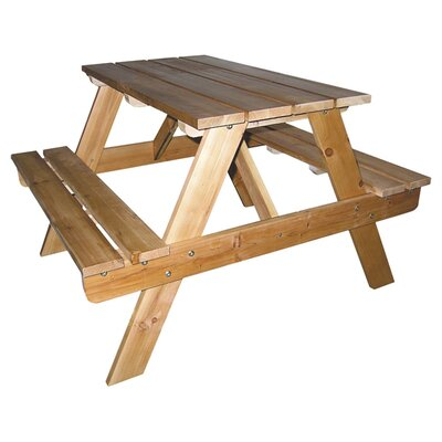 ORE Furniture Kids Picnic Table