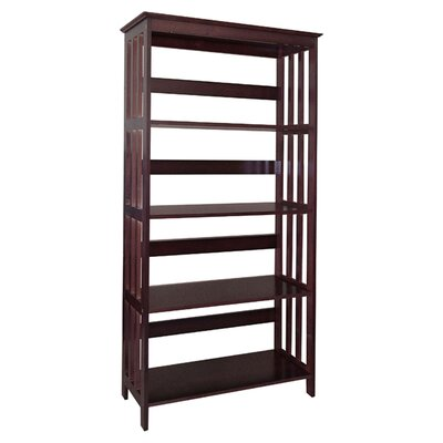 ORE Furniture 4 Tier Bookcase in Espresso