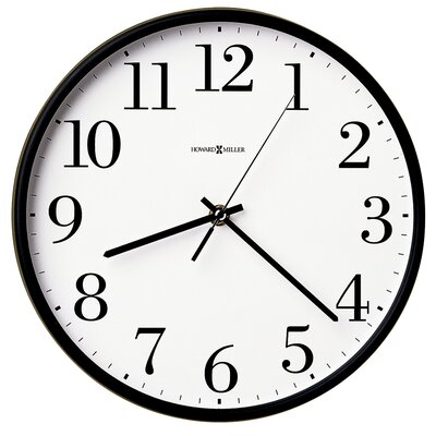 "Howard Miller® Office Mate 10.5"" Wall Clock"