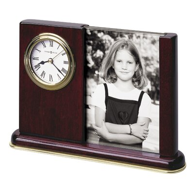 Howard Miller® Portrait Caddy Table Clock