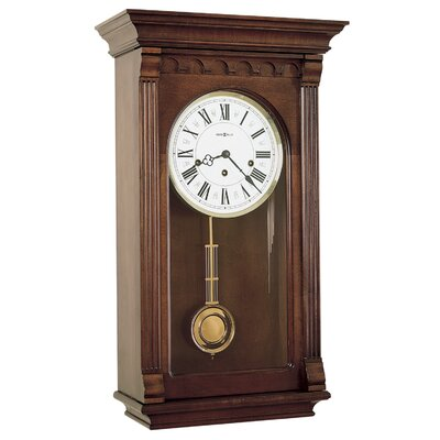 Howard Miller® Alcott Chiming Key - Wound Wall Clock