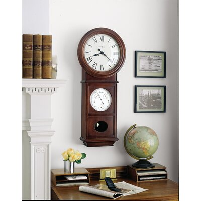 Howard Miller® Lawyer II Chiming Key - Wound Wall Clock