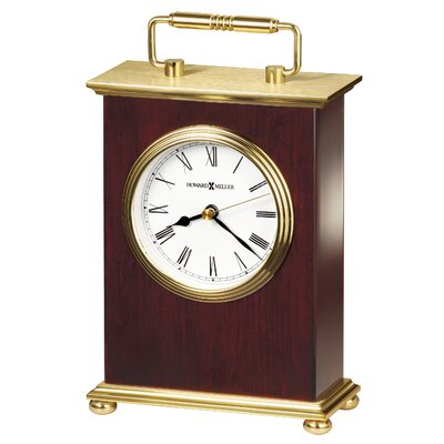 Howard Miller® Rosewood Bracket Table Clock