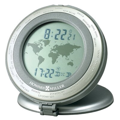 Howard Miller® World Travel Alarm Clock
