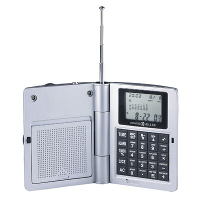 Howard Miller® Radio Travel Alarm Clock