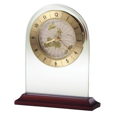 Howard Miller® World Time Arch  Quartz Table Clock