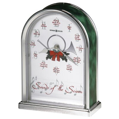 Howard Miller® Sounds Of the Seasons Tabletop Clock