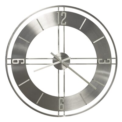 "Howard Miller® Stapleton Oversized 30"" Wall Clock"