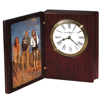 Portrait Book II Table Clock