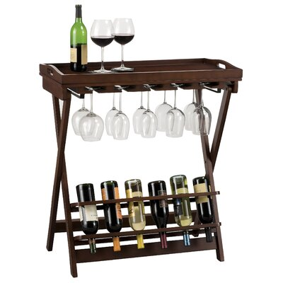 Havana 6 Bottle Wine Rack