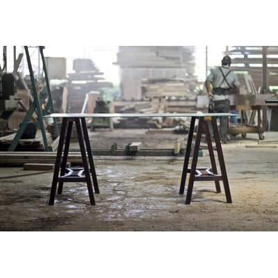 Sawhorse Writing Desk
