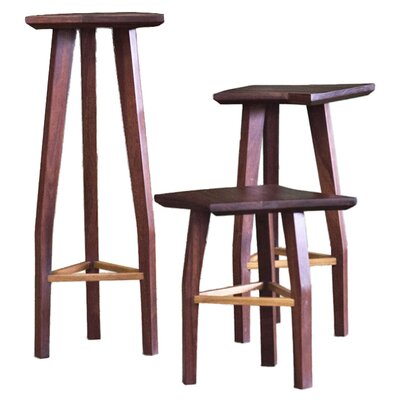 Aaron Poritz Furniture 3 Piece Alba Stool Set