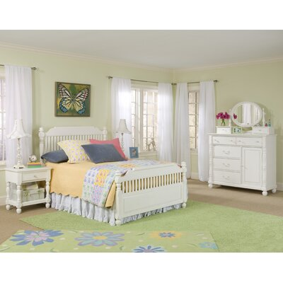 Legacy Classic Furniture Olivia Low Poster Bed