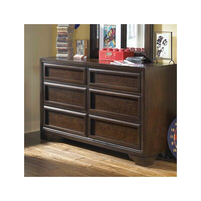 LC Kids Benchmark 6 Drawer Dresser