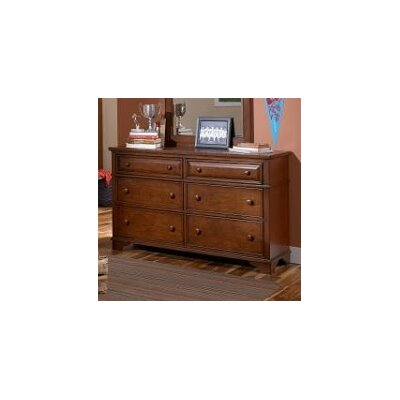 LC Kids Dawson's Ridge 6 Drawer Dresser