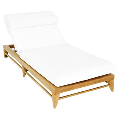 OASIQ Limited Chaise Lounge with Cushion