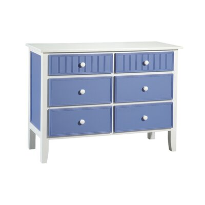 Papila Design 6 Drawer Dresser