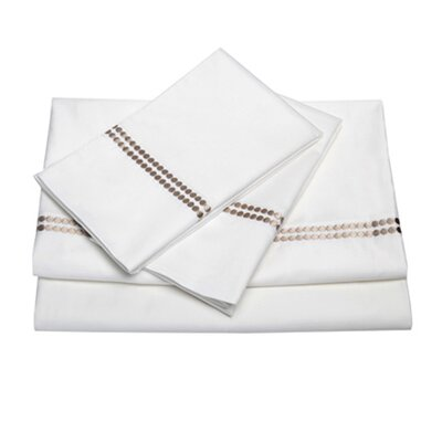 <strong>Blissliving Home</strong> Chelsea Oyster 300 Thread Count Sheet Set