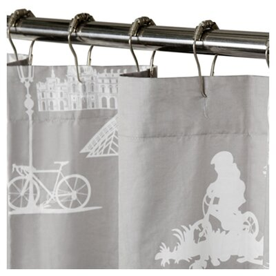 Blissliving Home Madeline Cotton Shower Curtain