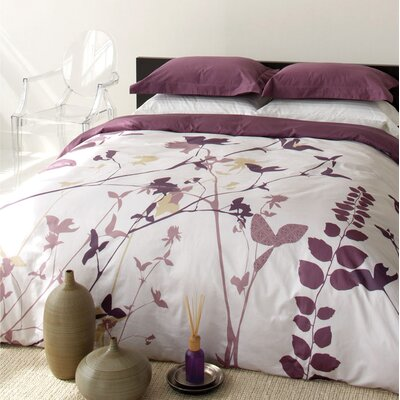 Blissliving Home Amanda Purple Duvet Set - Full/Queen