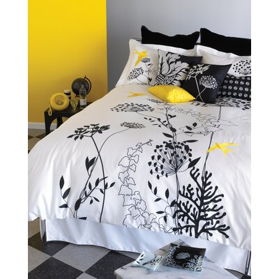 Blissliving Home Anis Yellow Duvet Set - King