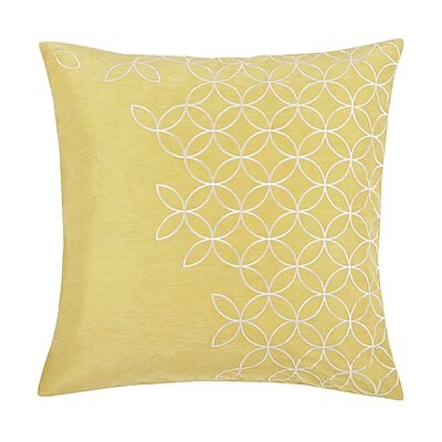 Blissliving Home Latham Pillow in Hemp Yellow