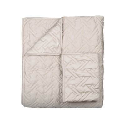 Blissliving Home Tate Coverlet Set in Putty