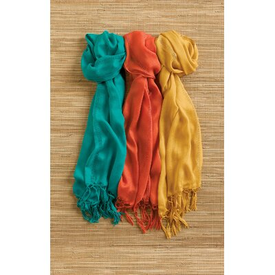 Blissliving Home Nomad Scarf in Mustard