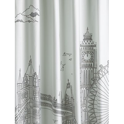 Blissliving Home London Cotton Shower Curtain