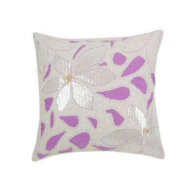 Blissliving Home Mala Orchid Pillow