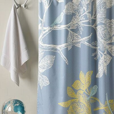 Blissliving Home Icelandic Dream Cotton Shower Curtain