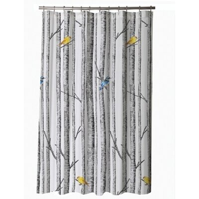 Blissliving Home Birch Cotton Sateen Shower Curtain