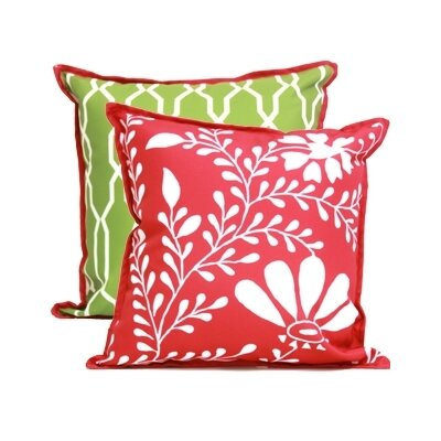 Blissliving Home Abu Dhabi Oasis Acrylic Pillow