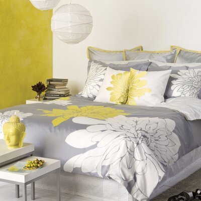 Blissliving Home Ashley Citron Duvet Set - King
