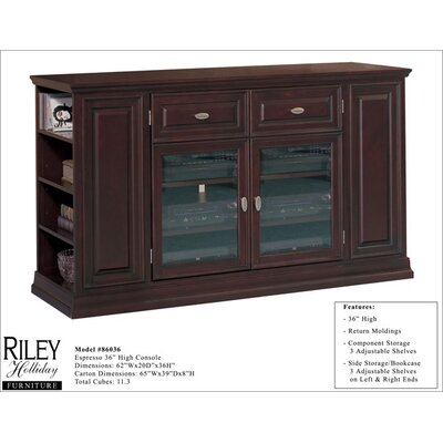 "Riley Holliday Boulder 62"" TV Stand"