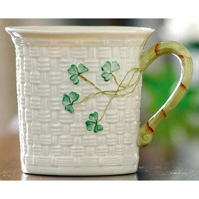Belleek Shamrock Mug