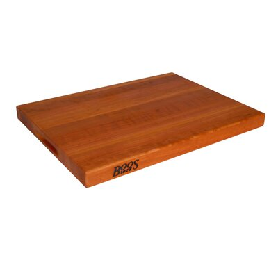 John Boos BoosBlock Commercial 1.5&quot; Cherry Cutting Board