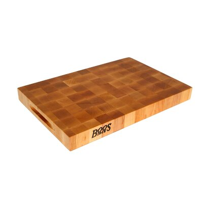 John Boos BoosBlock Reversible Maple Cutting Board