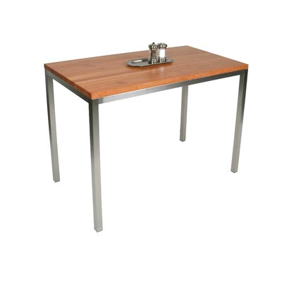 John Boos Metropolitan Designer Prep Table with Butcher Block Top