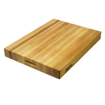 "John Boos BoosBlock Commercial 2 1/4"" Maple Cutting Board"