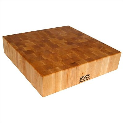 "John Boos BoosBlock Reversible 6"" Butcher Block Cutting Board"